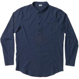 Houdini Longsleeve Shirt Herre blue illusion